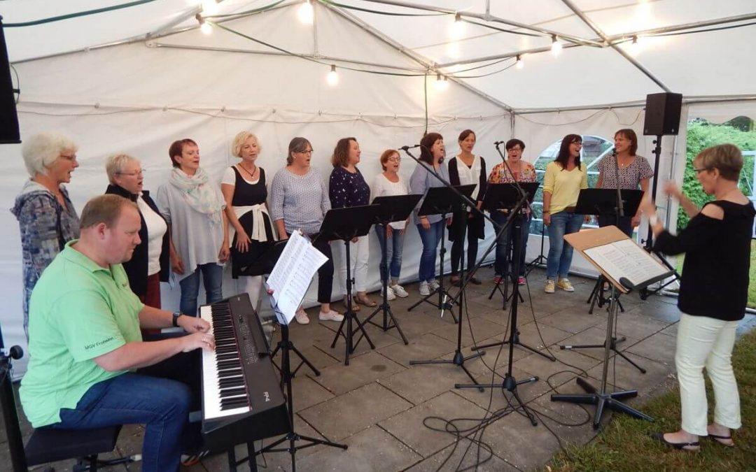 Voices of Joy singen beim MGV Frohsinn