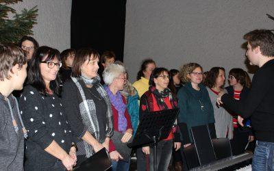 Singen an der Malmsheimer Krippe