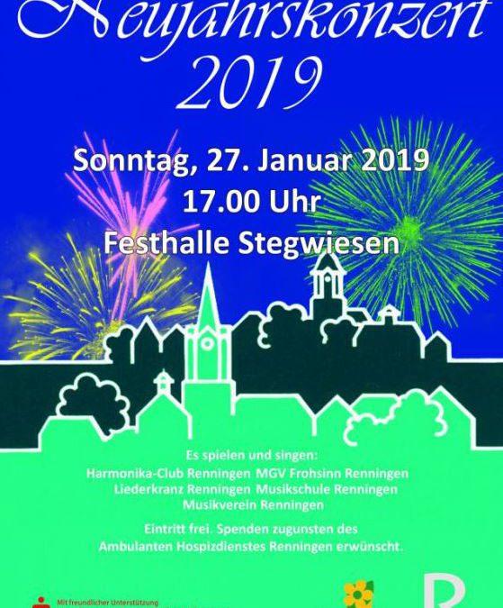 Neujahrskonzert der Stadt Renningen